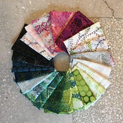 Urban Garden - fabric by Leslie Tucker Jenison