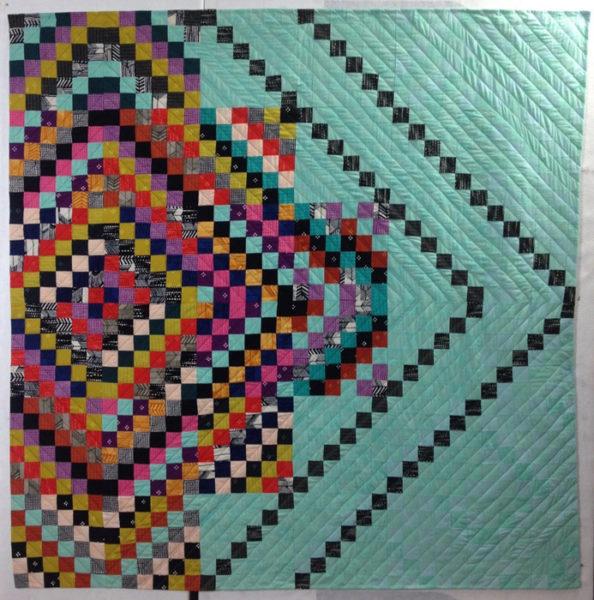 modern quilt by Leslie Tucker Jenison